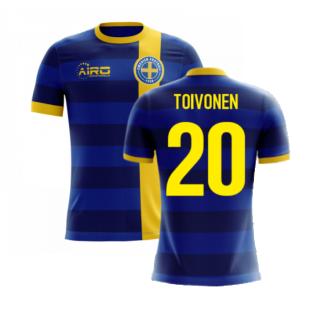 2020-2021 Sweden Airo Concept Away Shirt (Toivonen 20) - Kids