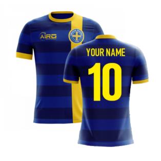2020-2021 Sweden Airo Concept Away Shirt (Your Name)