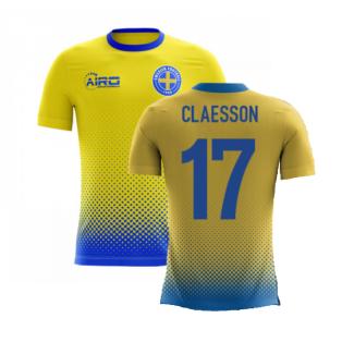 2020-2021 Sweden Airo Concept Home Shirt (Claesson 17) - Kids