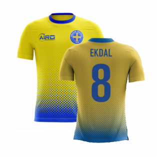 2020-2021 Sweden Airo Concept Home Shirt (Ekdal 8) - Kids