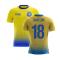 2020-2021 Sweden Airo Concept Home Shirt (Jansson 18) - Kids