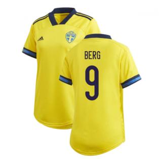 2020-2021 Sweden Home Adidas Womens Shirt (BERG 9)