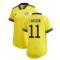 2020-2021 Sweden Home Adidas Womens Shirt (LARSSON 11)