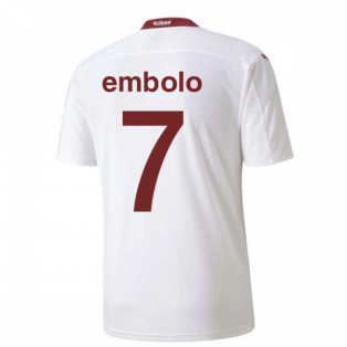 2020-2021 Switzerland Away Puma Football Shirt (EMBOLO 7)