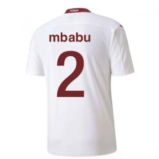 2020-2021 Switzerland Away Puma Football Shirt (MBABU 2)