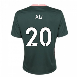 2020-2021 Tottenham Away Nike Football Shirt (ALI 20)