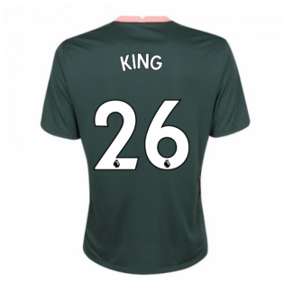 2020-2021 Tottenham Away Nike Football Shirt (KING 26)
