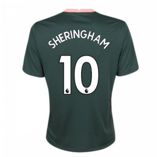2020-2021 Tottenham Away Nike Football Shirt (SHERINGHAM 10)