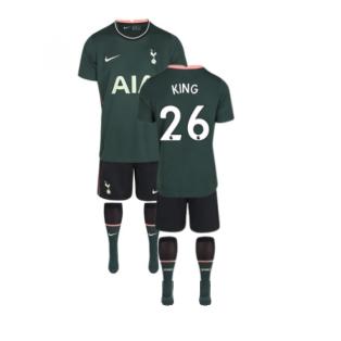 2020-2021 Tottenham Away Nike Little Boys Mini Kit (KING 26)