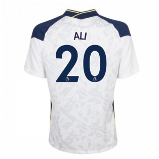 2020-2021 Tottenham Home Nike Football Shirt (ALI 20)