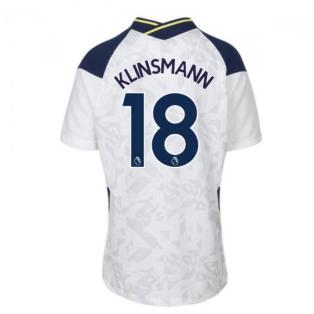 2020-2021 Tottenham Home Nike Football Shirt (Kids) (KLINSMANN 18)
