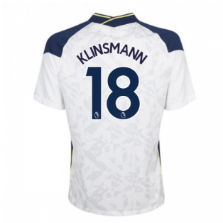 2020-2021 Tottenham Home Nike Football Shirt (KLINSMANN 18)