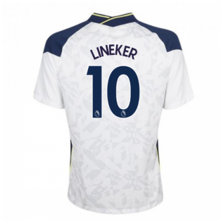 2020-2021 Tottenham Home Nike Football Shirt (LINEKER 10)