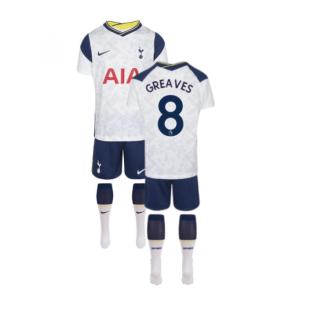 2020-2021 Tottenham Home Nike Little Boys Mini Kit (GREAVES 8)