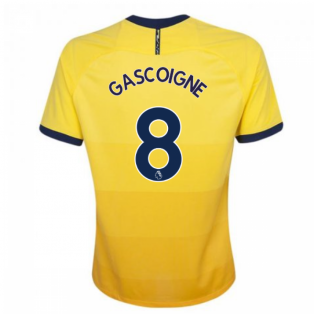 2020-2021 Tottenham Third Nike Football Shirt (Kids) (GASCOIGNE 8)