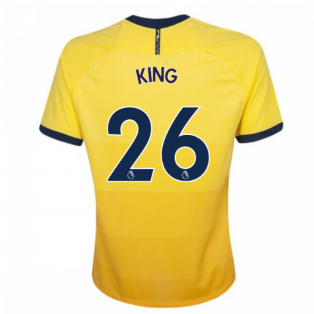 2020-2021 Tottenham Third Nike Football Shirt (Kids) (KING 26)