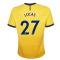 2020-2021 Tottenham Third Nike Football Shirt (Kids) (LUCAS 27)