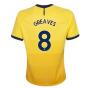 2020-2021 Tottenham Third Nike Ladies Shirt (GREAVES 8)