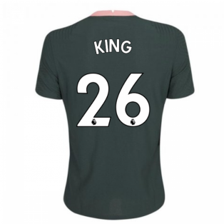 2020-2021 Tottenham Vapor Match Away Nike Shirt (KING 26)