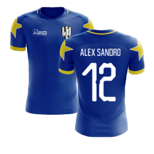 2020-2021 Turin Away Concept Football Shirt (Alex Sandro 12)