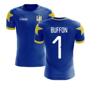 2020-2021 Turin Away Concept Football Shirt (Buffon 1)