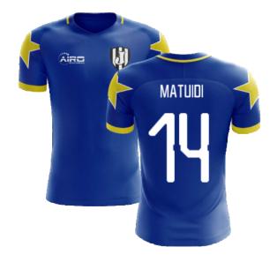 2020-2021 Turin Away Concept Football Shirt (Matuidi 14)