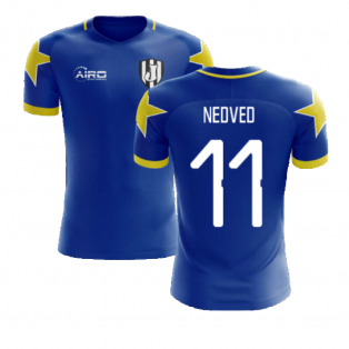 2020-2021 Turin Away Concept Football Shirt (Nedved 11)