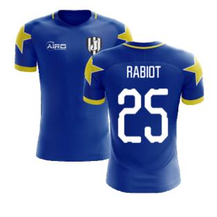 2020-2021 Turin Away Concept Football Shirt (Rabiot 25)