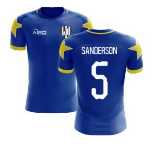 2020-2021 Turin Away Concept Football Shirt (Sanderson 5)
