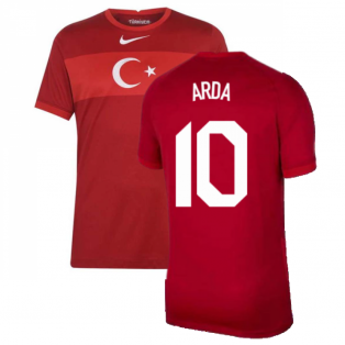 2020-2021 Turkey Away Nike Football Shirt (ARDA 10)