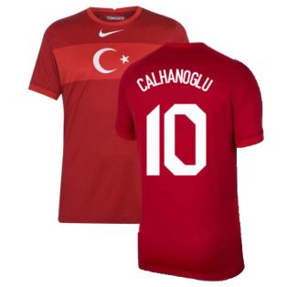 2020-2021 Turkey Away Nike Football Shirt (CALHANOGLU 10)