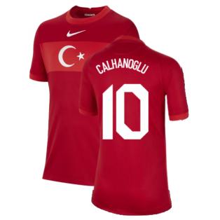 2020-2021 Turkey Away Nike Football Shirt (Kids) (CALHANOGLU 10)