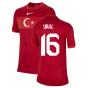 2020-2021 Turkey Away Nike Football Shirt (Kids) (UNAL 16)