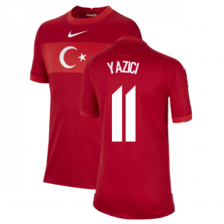 2020-2021 Turkey Away Nike Football Shirt (Kids) (YAZICI 11)