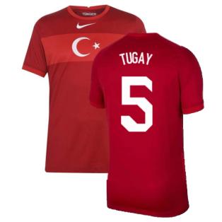 2020-2021 Turkey Away Nike Football Shirt (TUGAY 5)