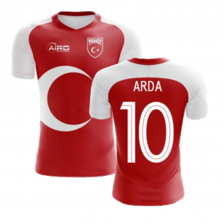 2020-2021 Turkey Home Concept Football Shirt (ARDA 10) - Kids
