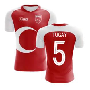 2020-2021 Turkey Home Concept Football Shirt (TUGAY 5) - Kids