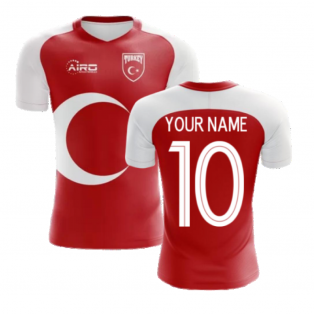 2020-2021 Turkey Home Concept Football Shirt (Your Name)