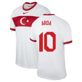 2020-2021 Turkey Home Nike Football Shirt (ARDA 10)