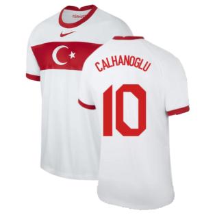 2020-2021 Turkey Home Nike Football Shirt (CALHANOGLU 10)