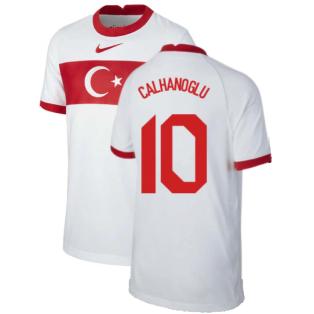 2020-2021 Turkey Home Nike Football Shirt (Kids) (CALHANOGLU 10)