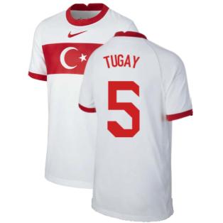 2020-2021 Turkey Home Nike Football Shirt (Kids) (TUGAY 5)