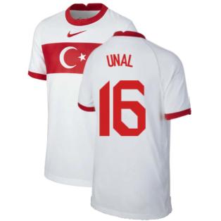 2020-2021 Turkey Home Nike Football Shirt (Kids) (UNAL 16)