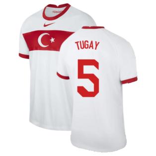 2020-2021 Turkey Home Nike Football Shirt (TUGAY 5)