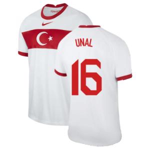 2020-2021 Turkey Home Nike Football Shirt (UNAL 16)