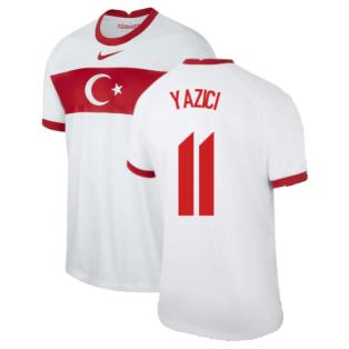2020-2021 Turkey Home Nike Football Shirt (YAZICI 11)