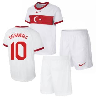 2020-2021 Turkey Little Boys Home Kit (CALHANOGLU 10)