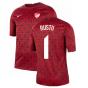 2020-2021 Turkey Nike Pre-Match Training Shirt (Red) (RUSTU 1)
