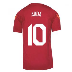 2020-2021 Turkey Nike Training Shirt (Red) (ARDA 10)
