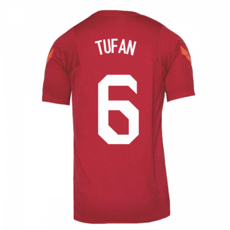 2020-2021 Turkey Nike Training Shirt (Red) (TUFAN 6)